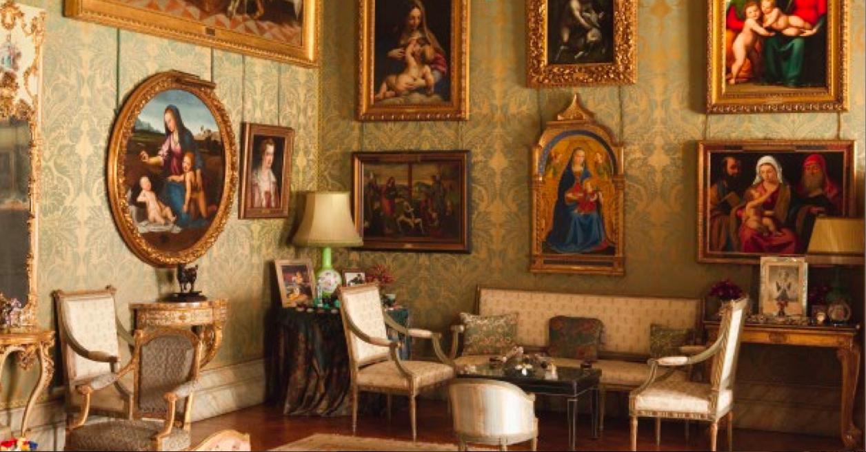 La liga de los libros extraordinarios las casas de cayetana - Casas de muebles en madrid ...