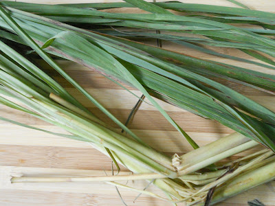 fresh lemongrass for Filipino fish stew