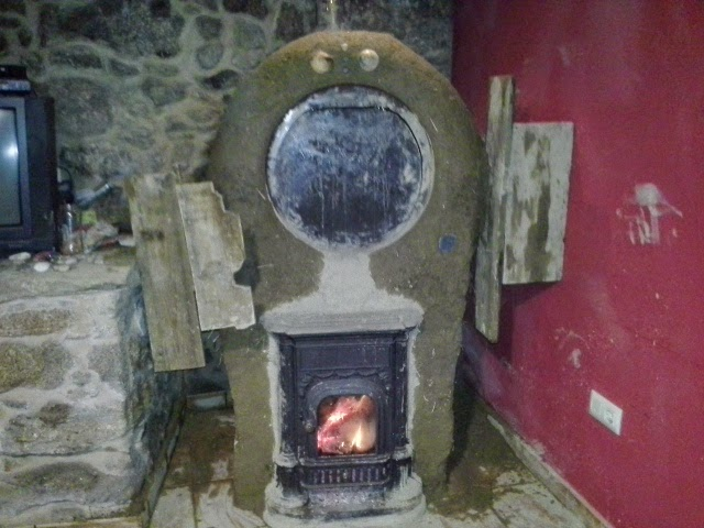 Tortugaboreal como hacer un horno de barro en tu estufa for Como hacer un horno de lena de hierro