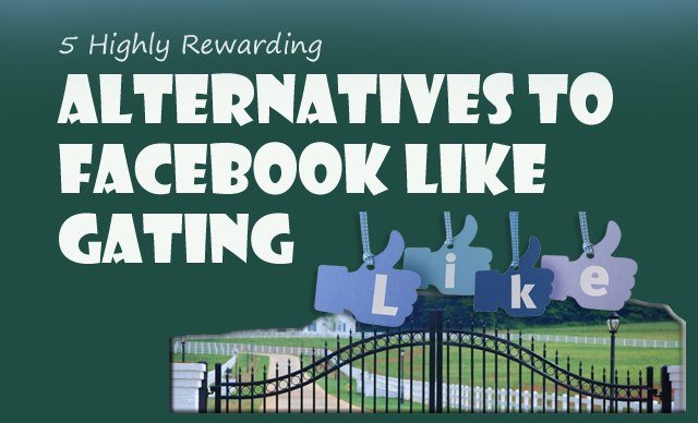 bloggingehow facebook like gating