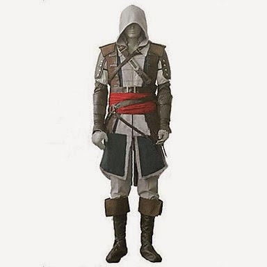 Cosplay Edward Assassins Creed 4 Blag Flag