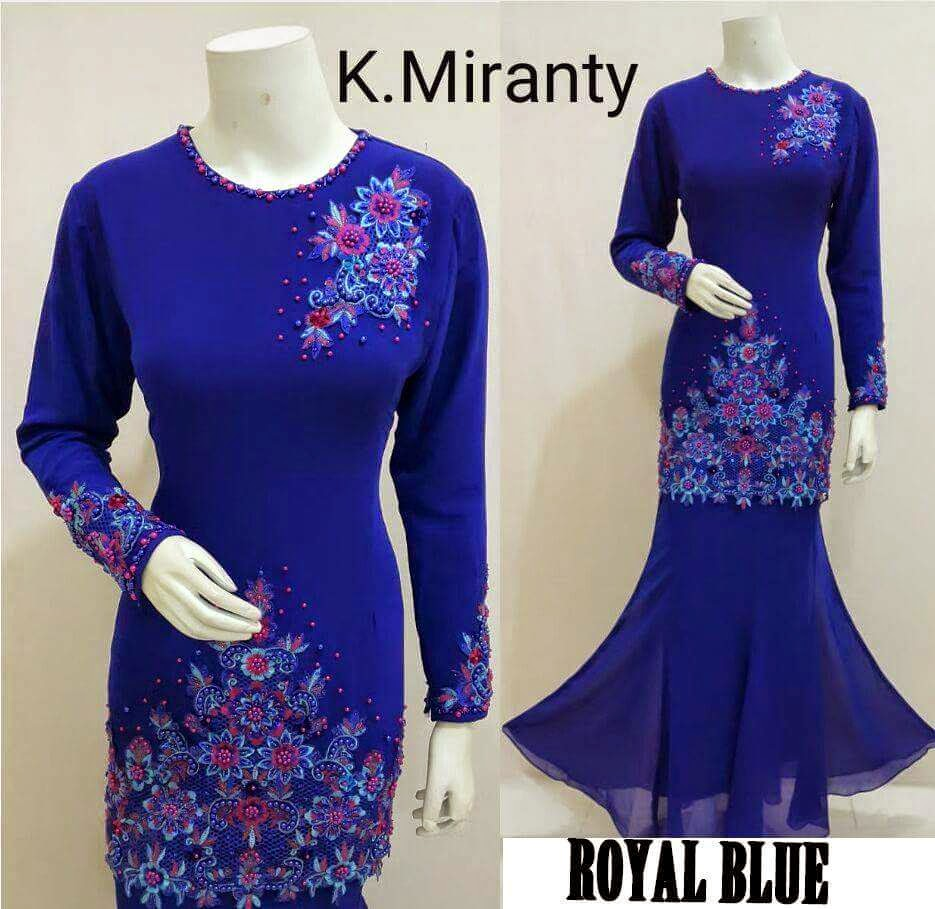 Seri Anggun Collection: Baju Kurung Miranty
