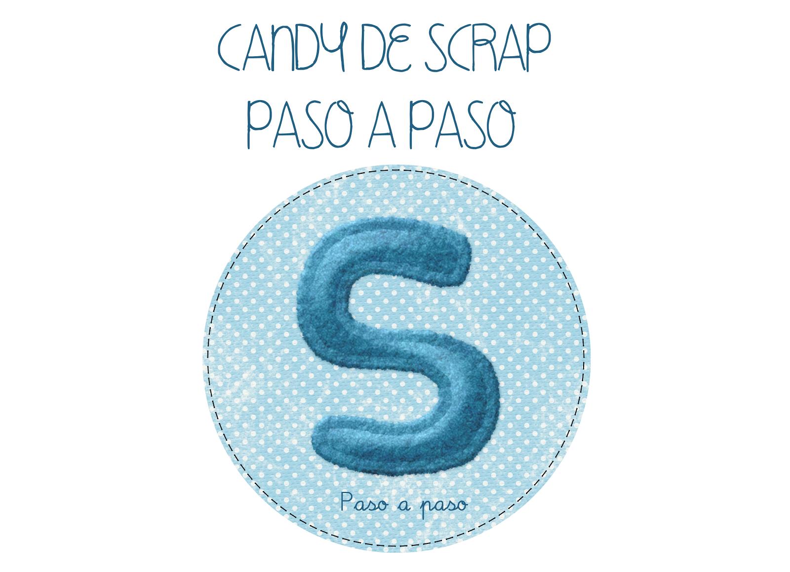 CANDY SCRAP PASO A PASO
