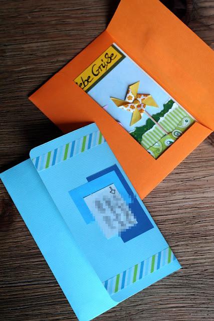 Scrapbooking, Scrapbook, Briefumschlag