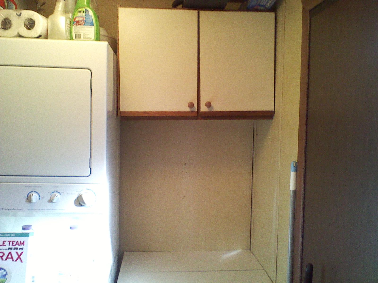 Vintage Knocks Laundry Room Small Space Storage Solutions
