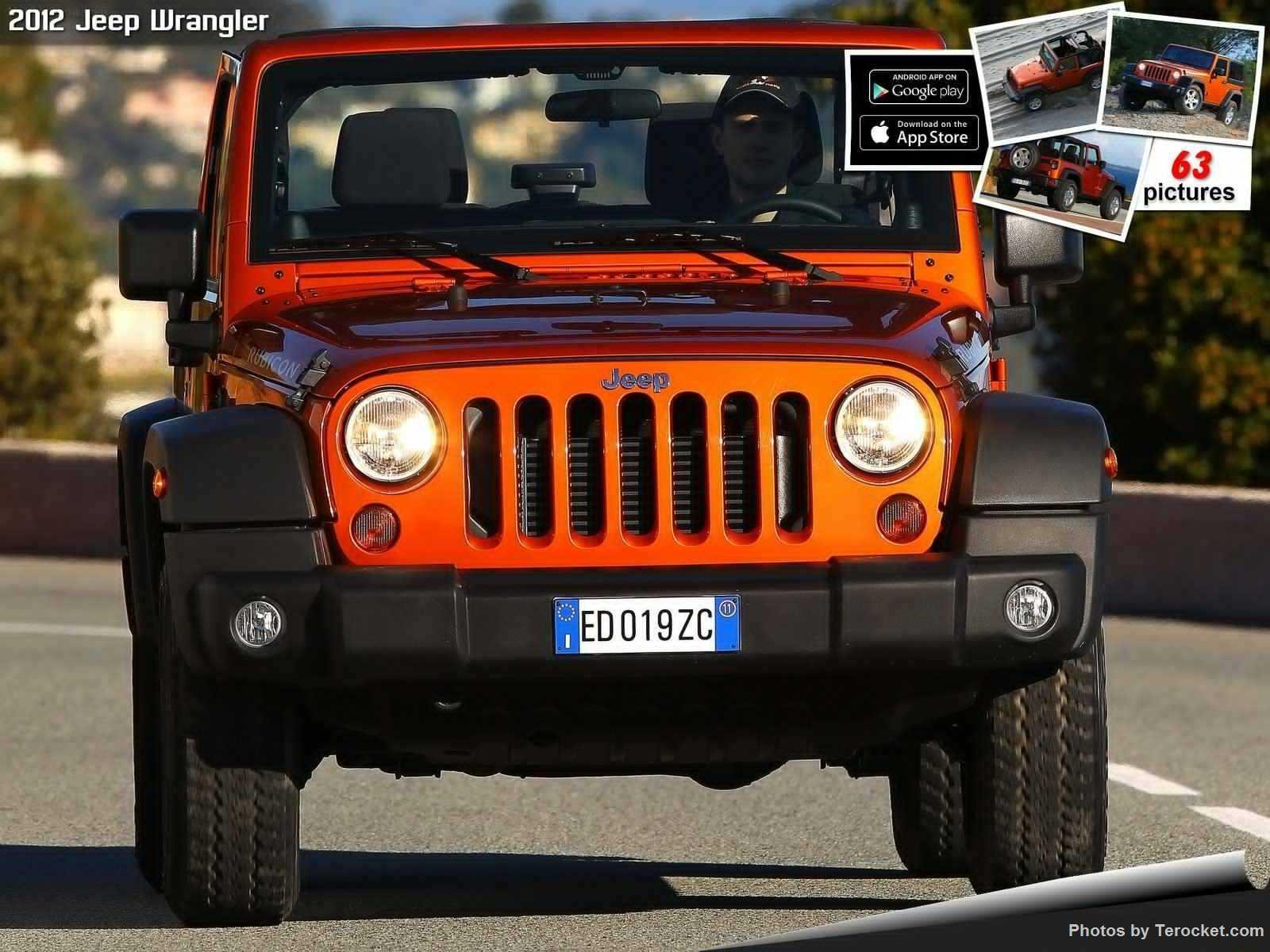 Hình ảnh xe ô tô Jeep Wrangler 2012 & nội ngoại thất