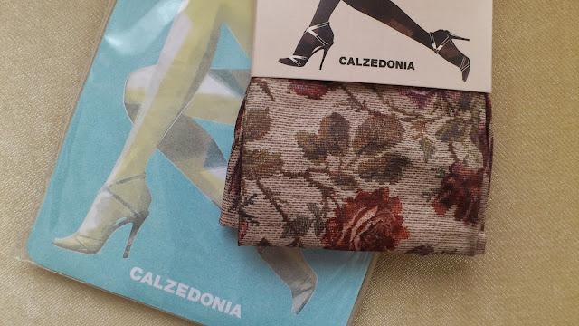 Calzedonia gül desenli çorap