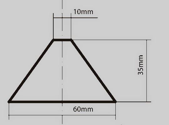 Diy hologram pyramid for Diy will template