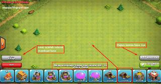 area edit vilage untuk membuat war base
