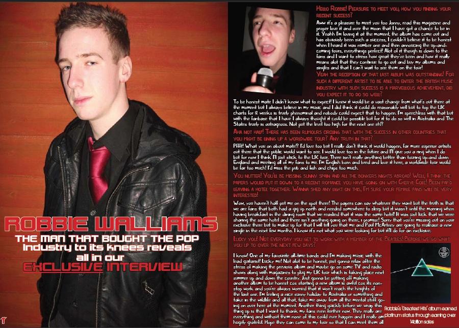 magazine articles template. TUNE Article