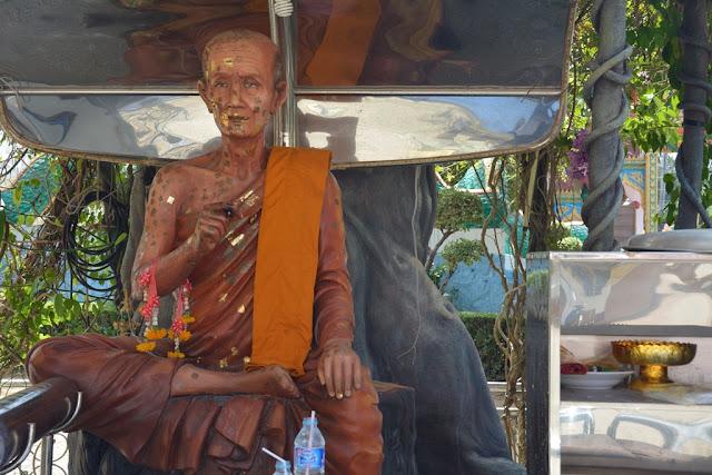 Wat Karon Phuket realistic monk statue