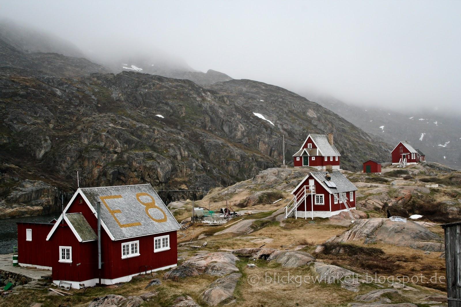 Grönland, verlassene Ortschaft