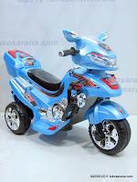 1 Motor Mainan Aki Merino 818 Police Escort