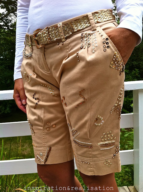 fashion gifts for women: beaded shorts