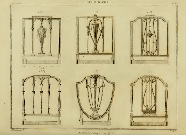 Tomass Šeratons. Thomas Sheraton, The Cabinet Maker's and Upholsterer's Drawing