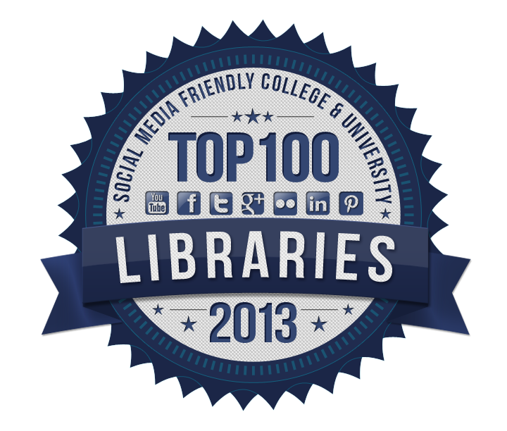 100 Most Social Media Friendly College & University Libraries for 2013