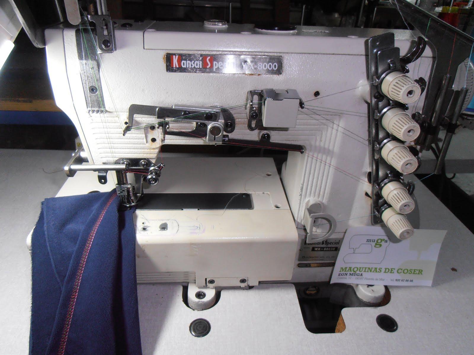 Maquinas de coser MUGA EGN