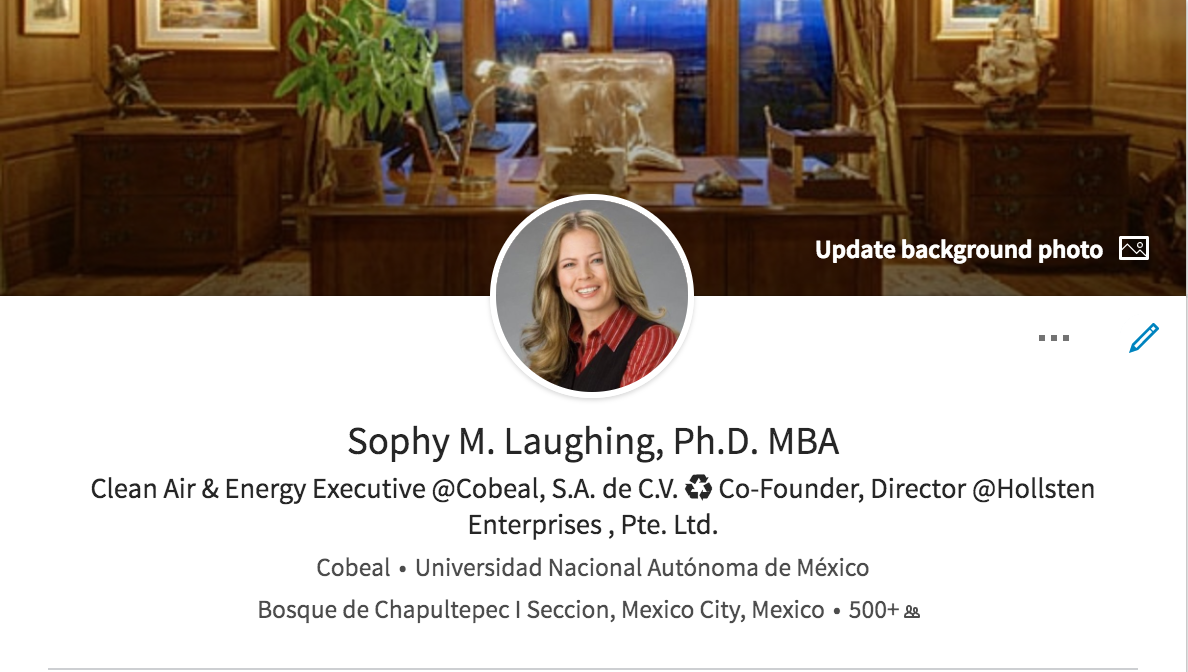 Trying to Reach Sophy M. Laughing, Ph.D., MBA?