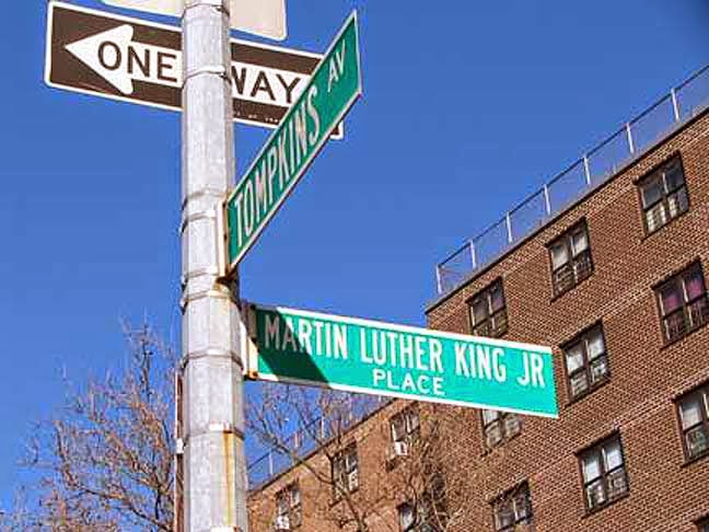 Martin Luther King, Jr streets