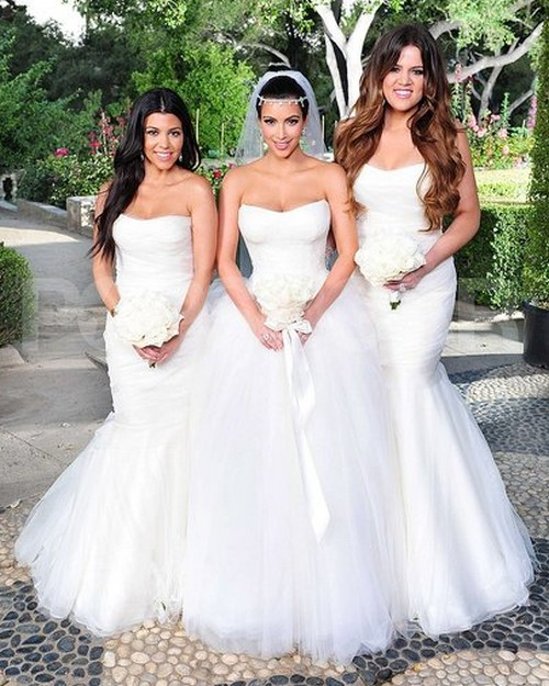 Fashion design kim kardashian wedding dresses for Kim kardashian s wedding dress