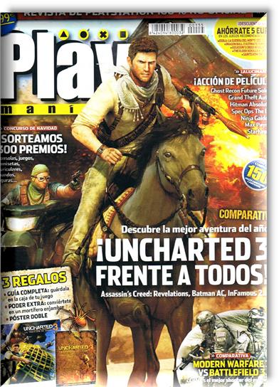 Revista: Playmanía No. 155 - Diciembre 2011 [82.09 MB | Español | PDF]
