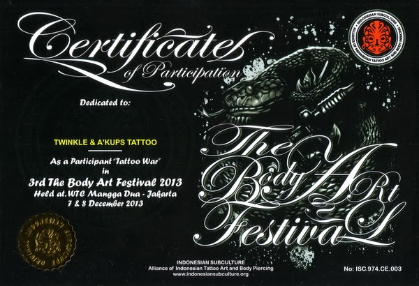 INDONESIA SUBCULTURE Tattoo Fest 2013