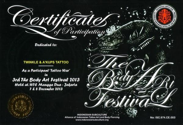 INDONESIA SUBCULTURE Tattoo Fest 2013