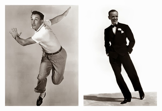 gene kelly y fred astaire