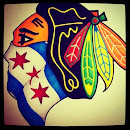 """FROZEN TALK"" 1901 West MADISON...BLACKHAWKS @ BLUES Round 1"