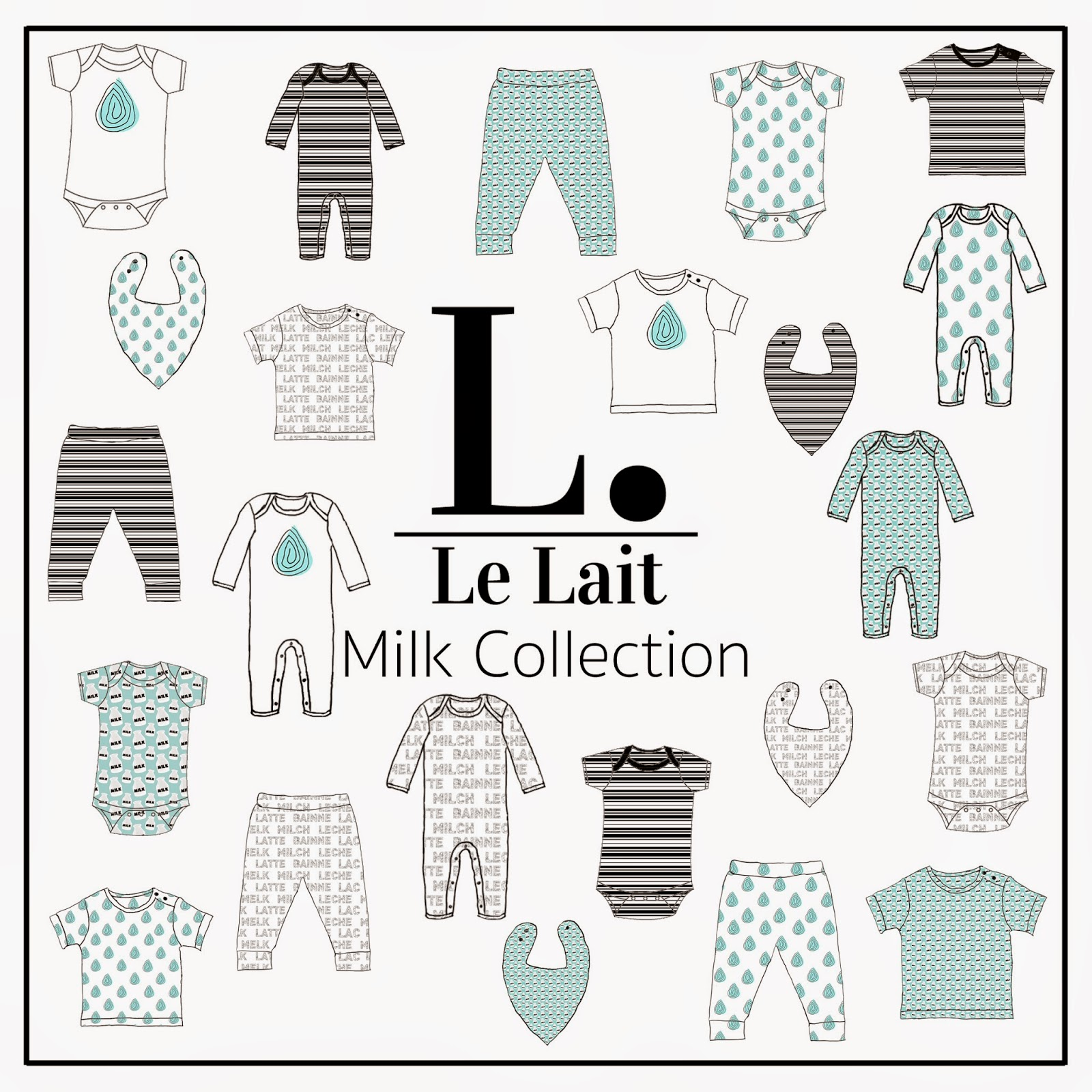 Le Lait's Milk Collection SS15