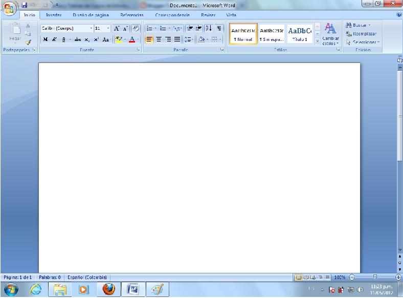 Programa Microsoft Word 2007