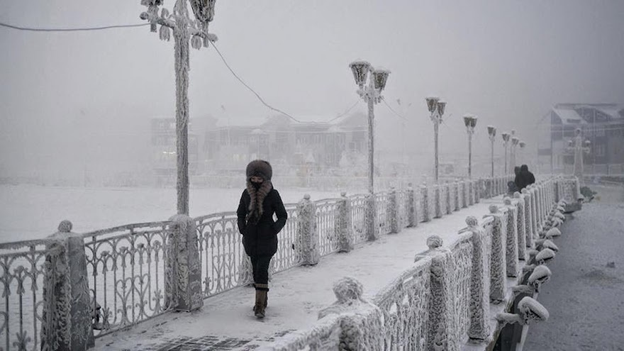 Oymyakon..The Coldest Place On Earth