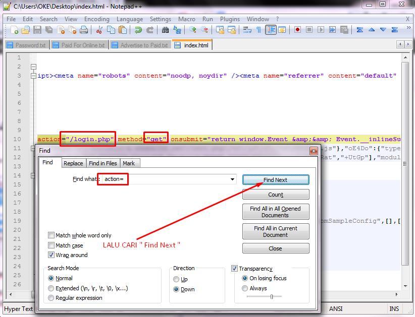 Cara Membuat Script Web Phising | TIPS DAN TUTORIAL