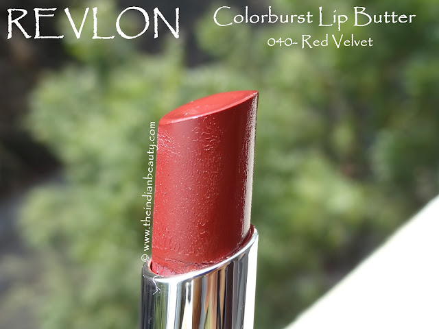 revlon colorburst lip butter red velvet