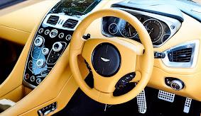 Interior Mobil Aston Martin Vanquish Indonesia