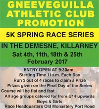 Killarney Spring 5k Series... Feb 2017
