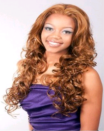 A Plus Ozone Synthetic Lace Front Wig 006