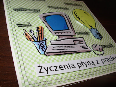 kartka dla elektryka