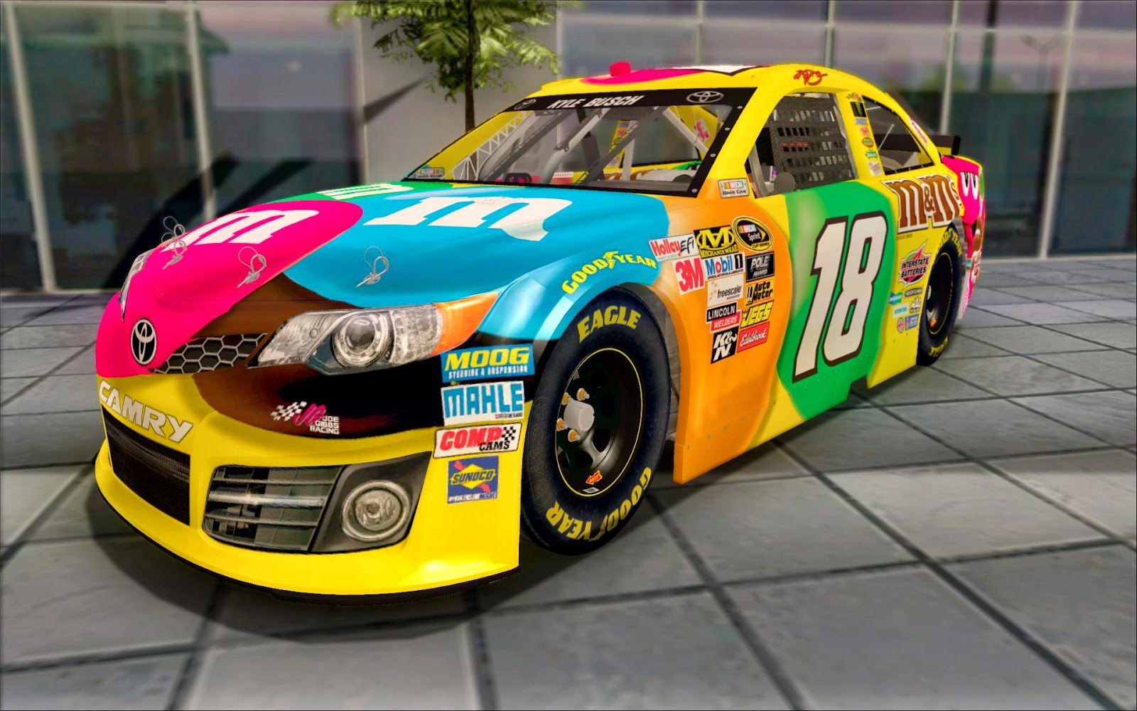 Grand Theft Auto : San Andreas NASCAR: Kyle Busch Paint ...