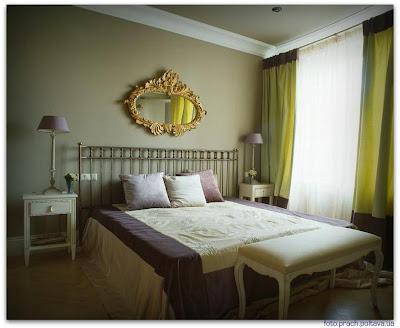 На фото интерьер спальни из проекта, реализованного «Бюро Анны Муравиной»