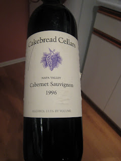 Cakebread Cellars Cabernet Sauvignon 1996