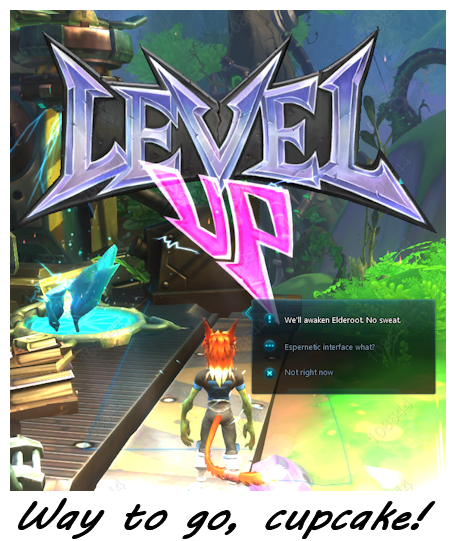 Level up in Wildstar