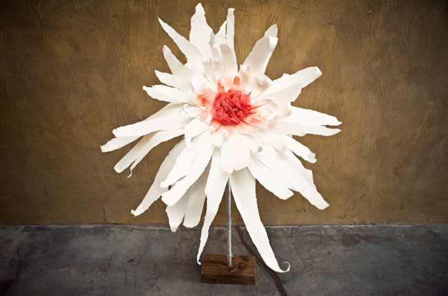 DIY: flores de papel gigantes