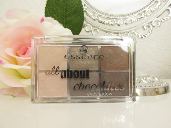 essence all about chocolate eyeshadow palette