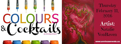 Colours & Cocktails Art Class With Natalie VonRaven