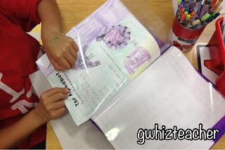 gwhizteacher, fluency folder