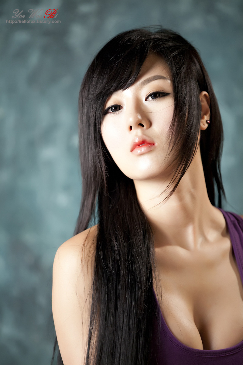 skinny vs curvy very pretty korean beauty hwang mi hee