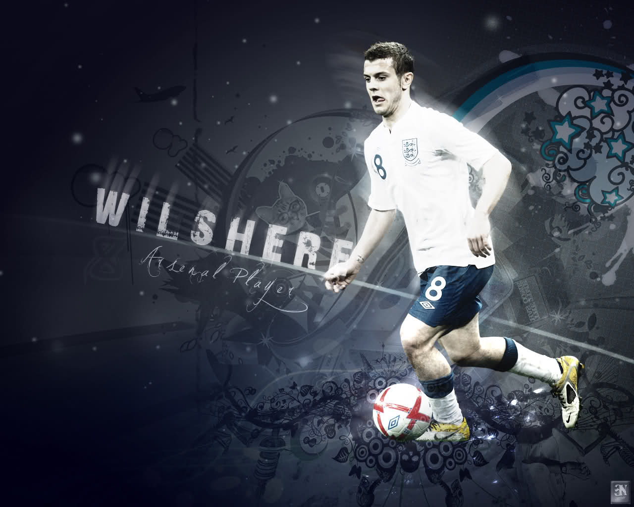 jack wilshere arsenal star its all about wallpapers