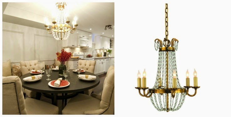 When I Took The Dining Room Chandelier From My Old House Had Plans To Install It In New But Now Im Thinking Its Too Big And Having
