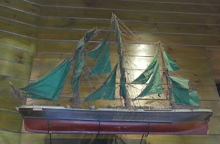 model of clipper aberdeen white star thermopylae